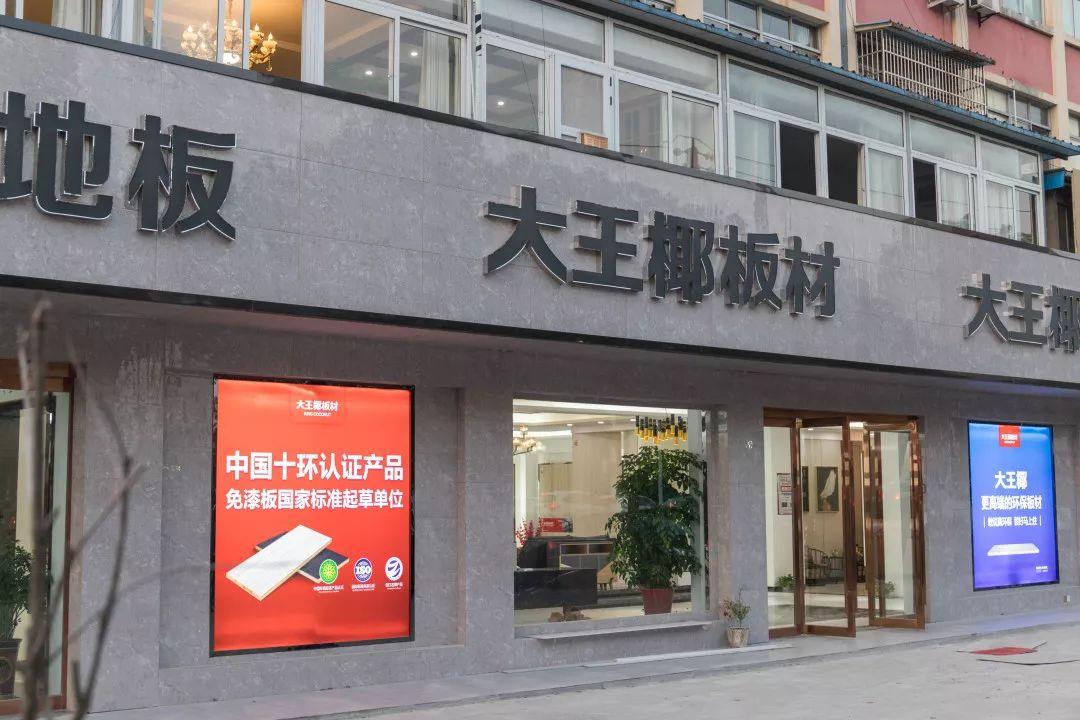中国板材十大品牌大王椰金坛店经销商采访实录